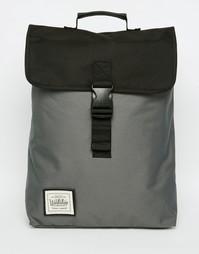 Рюкзак с застежкой-ремешком Workshop - Серый