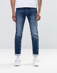 Узкие джинсовые джоггеры цвета индиго Jack & Jones - Indigo - индиго