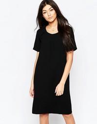 Цельнокройное платье Ichi - Черный