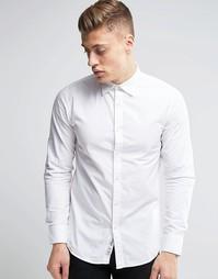 Рубашка узкого кроя Produkt - Белый