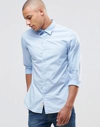 Строгая базовая рубашка Produkt - Синий