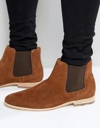 Замшевые ботинки челси ALDO Jerenalia - Коричневый