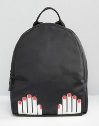 Рюкзак Lulu Guinness Hands - Черный
