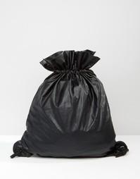 Рюкзак на шнурке ASOS - Черный