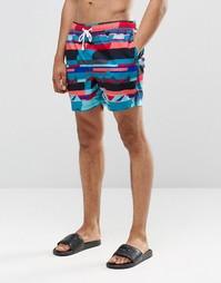 Комбинируемые шорты средней длины Ringspun - Синий