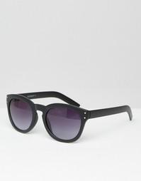 Круглые солнцезащитные очки AJ Morgan - Черный