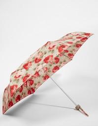 Зонт песочного цвета с розами Cath Kidston Minilite 2 Aubrey - Мульти