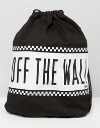 Монохромный рюкзак с затягивающимся шнурком Vans - Мульти