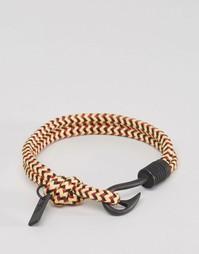 Веревочный разноцветный браслет с крючком Icon Brand - Мульти