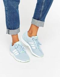 Кроссовки adidas ZX Flux - Небесно-голубой