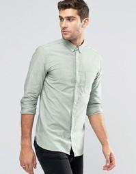 Оксфордская рубашка Jack & Jones Premium - Зеленый