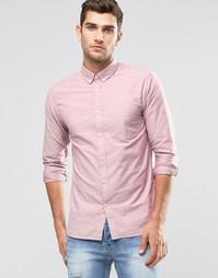 Оксфордская рубашка Jack & Jones Premium - Розовое дерево