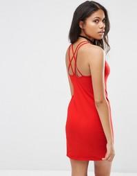 Платье на бретельках Motel Silka - Красный