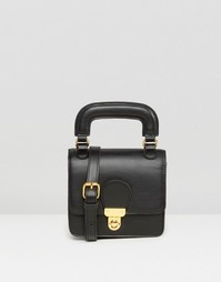 Маленькая сумка‑сэтчел Monki - Черный