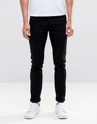 Узкие черные эластичные джинсы Paul Smith - Черный