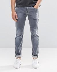 Серые джинсы слим Pepe Hatch D81 - Серый