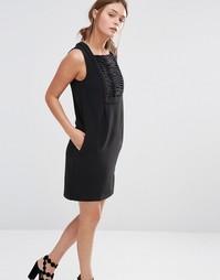 Цельнокройное платье See U Soon - Черный
