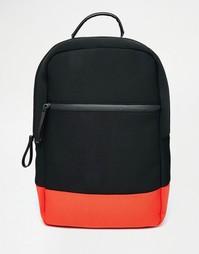 Контрастный рюкзак ASOS Scuba - Черный