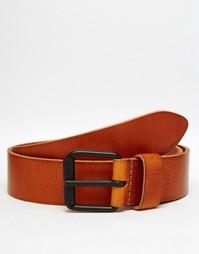 Кожаный ремень в стиле casual от Esprit - Коричневый
