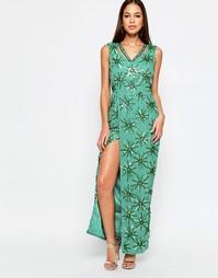 Платье макси Virgos Lounge Danise - Синий