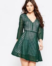 Кружевное платье Sister Jane Harvest Moon - Зеленый