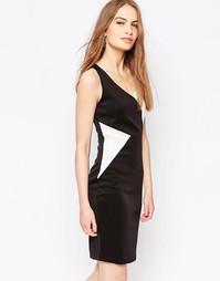 Платье с контрастной вставкой Daisy Street - Черный