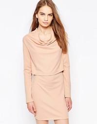 Двухслойное платье Daisy Street - Телесный