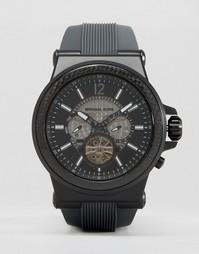 Силиконовые часы Michael Kors Dylan MK9026 - Черный