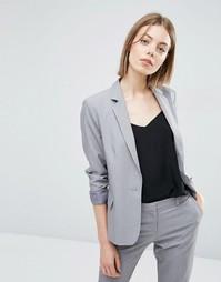 Приталенный блейзер ASOS Tailored - Серый