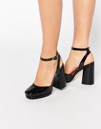 Туфли на каблуке ASOS PUTNEY - Черный
