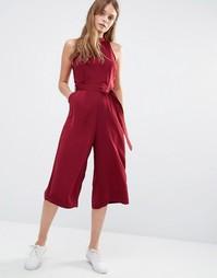 Комбинезон с юбкой-шортами Daisy Street - Burgundy