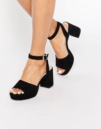 Туфли на каблуке ASOS HYSTERIA - Черный