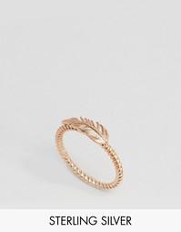 Позолоченное кольцо Pieces & Julie Sandlau - Розовое золото