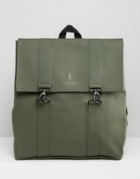 Rains Messenger Backpack In Green - Зеленый