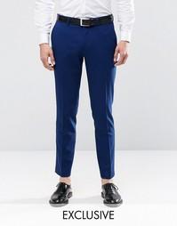 Зауженные стретчевые брюки Only & Sons - Синий
