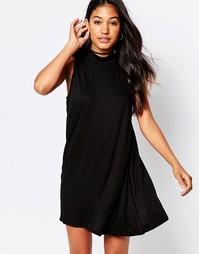 Свободное платье Motel Tania - Черный