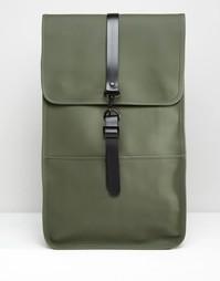 Зеленый рюкзак Rains - Зеленый