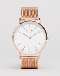 Классические часы цвета розового золота Reclaimed Vintage - Золотой