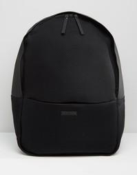 Черный сетчатый рюкзак Rains - Черный