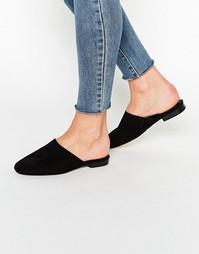Туфли на плоской подошве ASOS MOTH - Черный