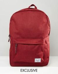 Классический рюкзак среднего размера Herschel Exclusive - Винный