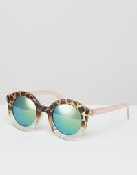 Солнцезащитные очки с зеркальными стеклами AJ Morgan