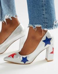 Туфли на каблуке с отделкой звездами Daisy Street