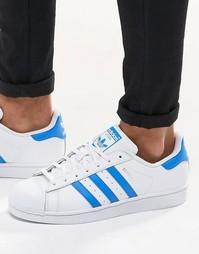 Белые кроссовки adidas Originals Superstar S75929 - Белый
