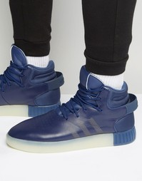 Синие кроссовки adidas Originals Tubular Invader S81793 - Синий