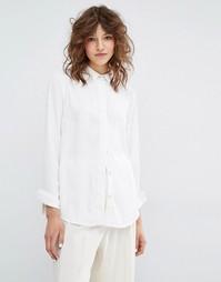 Рубашка Samsoe & Samsoe Mally - Белый Samsøe &; Samsøe