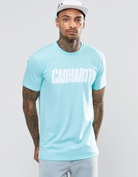 Футболка с надписью Carhartt WIP - Зеленый