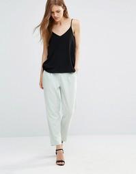 Укороченные брюки Minimum Fia - Surf mint