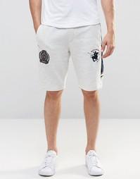 Шорты со шнурком Santa Monica Polo Club - Серый