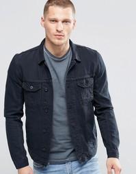 Черная джинсовая куртка Religion - Черный